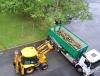 Городские части очищаются от сломанных деревьев