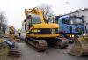 В Ярвеской части укладываются последние метры нового трубопровода