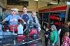 Школьники познакомились со спасательной техникой